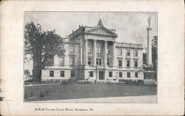 DeKalb County Court House Sycamore Illinois