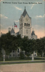 McPherson County Court House Postcard