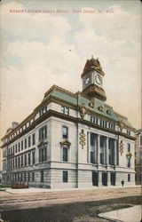 Webster County Court House Postcard