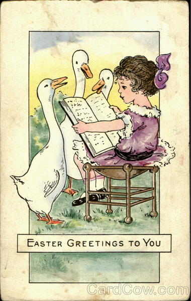 Easter Greetings To You