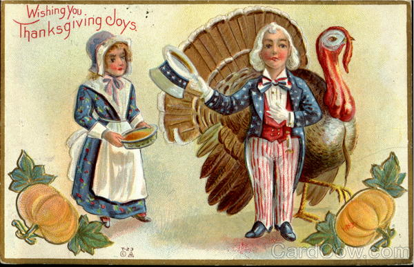 Wishing You Thanksgiving Joys Patriotic