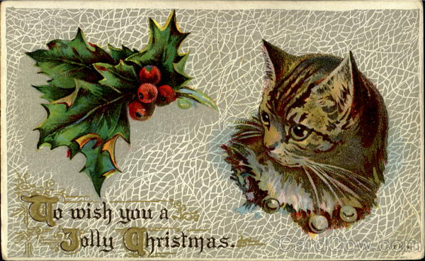 To Wish You A Jolly Christmas Cats
