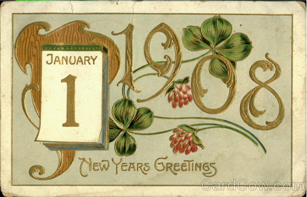 January 1 New Years Greetings New Year's