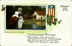 Washington And His Mother