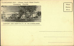 Clewiston Inn Postcard