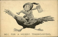 Ho! For A Merry Thanksgiving