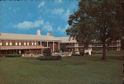 The Ramada Inn Motel Postcard
