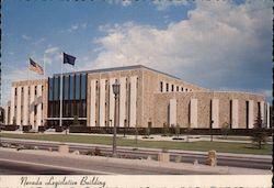 The State Capital Nevada Legislative Building Postcard