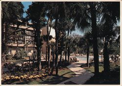 Marriott Hotel Postcard