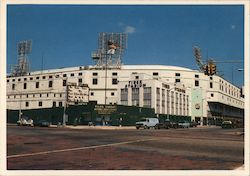 Tiger Stadium, Home of the Detroit Tigers Postcard