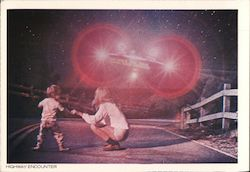 Highway Encounter, Close Encounters of the Third Kind Postcard