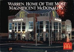The Most Magnificent McDonald's in America Postcard