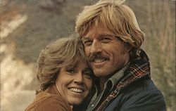 "Robert Redford and Jane Fonda ""The Electric Horseman"" Postcard"
