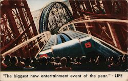 I was in Cinerama Roller Coaster Postcard