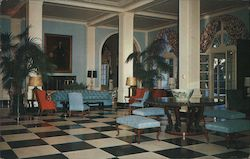 Greenbrier Main Lobby Postcard