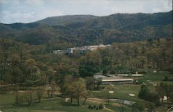 Scene from Catamount of The Greenbrier Golf and Tennis Club Postcard