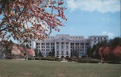 The North Entrance of the Greenbrier Postcard