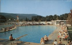 The Greenbrier Outdoor Swimming Pool Postcard