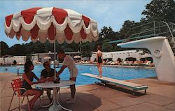 Swimming Pool - the Greenbrier Postcard