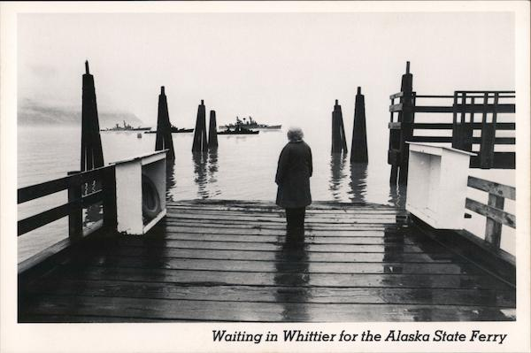 Waiting in Whittier for the Alaska State Ferry Tom Sadowski