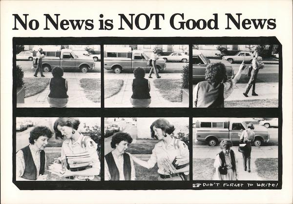 No News is Not Good News Comic, Funny