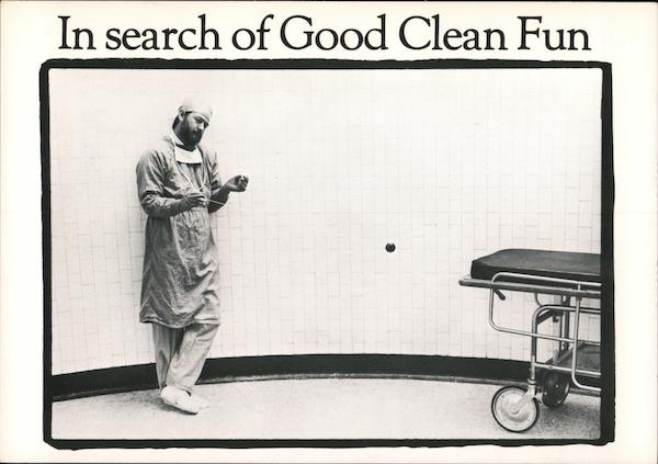 In search of Good Clean Fun Comic, Funny