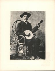 Uncle Dave Macon Postcard