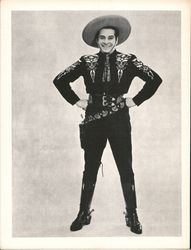 The Cisco Kid Postcard