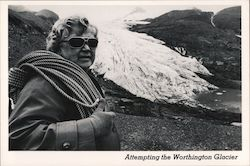 Attempting the Worthington Glacier Postcard