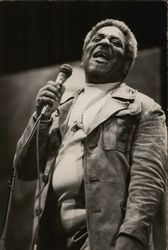Dizzy Gillespie at the Monterey Jazz Festival Postcard