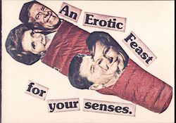 An Erotic Feast For Your Senses Postcard