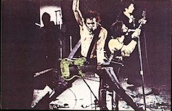 Sid Vicious c1980 Color Xerox Art Postcard