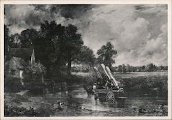 The Haywain, John Constable (1821) Cruise Missiles, USA (1983) Postcard