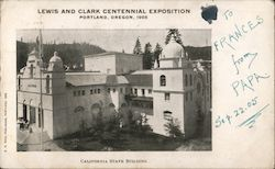 California State Building Postcard