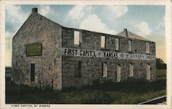 First Capitol of Kansas