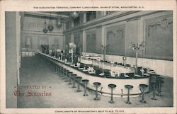 Washington Terminal Company Lunch Room, Union Station