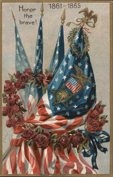 Honor the brave! 1861-1865 Memorial Day
