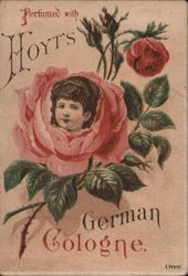 Perfumed with Hoyt's German Cologne Trade Card