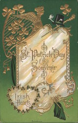 St. Patrick Day Souvenir Irish Hearts
