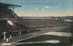 Shibe Park Baseball Grounds Postcard