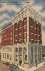 Crawford County Trust Company Postcard