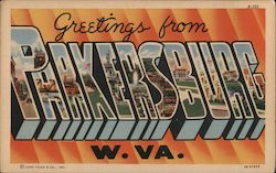Greetings from Parkersburg, W. VA.