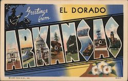 Greetings From El Dorado Postcard