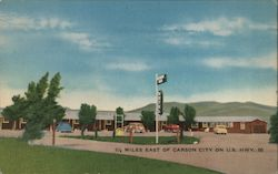 Desert Air Motel Postcard