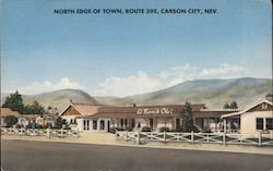North Edge of Town, Route 395 Postcard