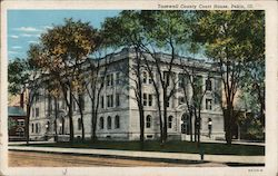Tazewell County Court House Postcard