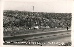 Formation, Arbuckle Mountains, Highway No. 77