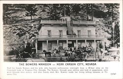 The Bowers Mansion Postcard