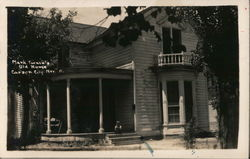 Mark Twain's Old House Postcard