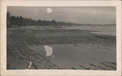Willow Mats on the Mississippi River Postcard